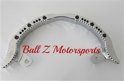 Chrome Hayabusa Hole Shot Grab Bar w/Ball Cut Edges