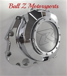 GSXR 600/750/1000 Chrome See Through Clutch Cover w/Etching