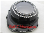 "Hayabusa B-King Black/Silver Ball Cut See Through Clutch Cover ""Clear"""