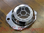 Hayabusa B-King Chrome Clear See Through Wicked Clutch Cover!