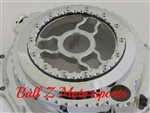 Chrome ZX14 See Through Wicked Ball Cut Clutch Cover w/Ninja Logo
