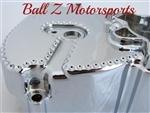 2008-2013 Hayabusa Chromed Ball Cut Stock/OEM Front Sprocket Cover