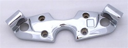 08-Up Hayabusa Chromed Stock/OEM Top Clamp Cover