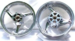 Chromed Hayabusa Stock/OEM Front/Rear Wheels