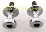 Bling Bling 2- Newly Chromed Stock/OEM Passenger Grab Rail Frankenstien Cargo Bolts