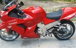 Kawasaki ZX-14 Chrome Frame Covers