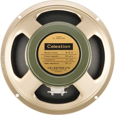 "Celestion G12H Heritage 55Hz.15 12"" guitar speaker"