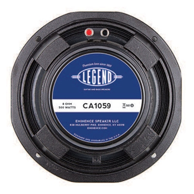 "Eminence Legend CA1059.8 10"" bass guitar speaker 8 ohm"