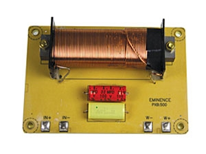 Eminence PXB 500 low-pass crossover, 500Hz