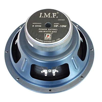 "P Audio IMF-HP10W 10"" Bass Speaker"