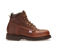 Carolina Mens Amber Gold 6-Inch Steel Toe Work Boot