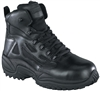 Reebok 6 Inch Composite Safety Toe Side Zipper Tactical Black Boots