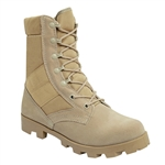 Rothco Desert Tan Military GI Type Speedlace Jungle Boots