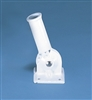 Adjustable White Flag Pole Bracket