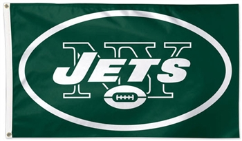 New York Jets Flag - Deluxe