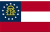 Georgia State Flag Monsoon Heavy Duty