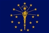 Indiana State Flag Monsoon Heavy Duty