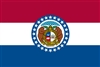 Missouri State Flag Monsoon Heavy Duty