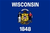 Wisconsin State Flag Monsoon Heavy Duty