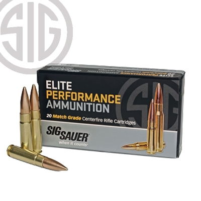 Sig Sauer Elite Match Ammunition