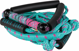 "2020 Ronix Women's Bungee Surf Rope - 10"" Handle - 25ft 4 - Sect. Rope"
