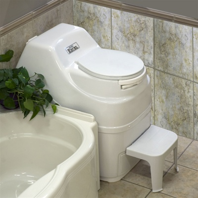 Excel self contained high capacity electric composting toilet by Sun-Mar