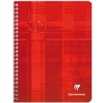 Clairefontaine Classic Notebook Wire Bound French Rule 50 Sheets  8 x 11