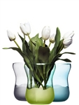 Sagaform Aqua Collection Wave Vase Light Green