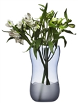 Sagaform Aqua Collection Wave Vase Large Blue