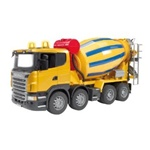 Bruder Cement Mixer Truck SCANIA R-Series - Made in Germany