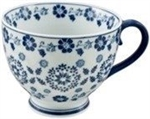 Multi Purpose Mug Blue Flowers