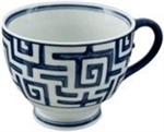 Multi Purpose Mug Blue Maze