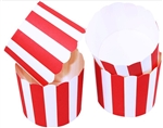 Cupcake liner red and white 20 Count