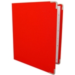 Russell and Hazel Red Orange Mini Binder