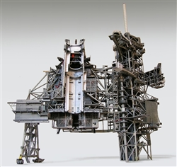 Space Shuttle Launch Complex 39A model kit in 1:72 scale, for Revell brand Shuttle with Boosters model kit and MLP (not included).  The unbuilt heavy paper design has won accolades around the world since 2011.  Extremely accurate and detailed.