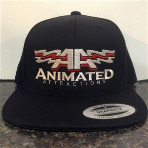Animated Attractions Embroidered Hat