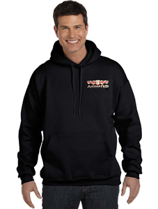 Animated Attractions Embroidered Hoodie