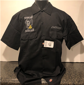 Brothers Grim Masonic Order Dickies Work Shirt