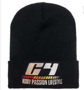 C4 Lifestyle Embroidered Beanie