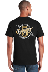 Committed 5 Year gold T-shirt