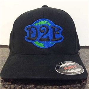 Down 2 Earth Flex Fit Hat B