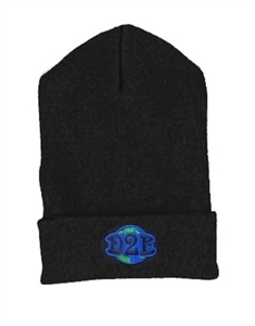 Down 2 Earth Stretch Fleece Beanie Embroidered