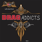 Drag Addicts Club Design A T-Shirt