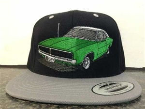 Dodge Charger Embroidered Hat