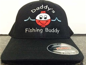 Daddy's Fishing Buddy Embroiderd Hat