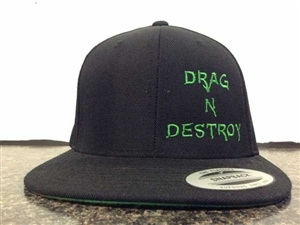 Drag & Destroy Embroiderd Hat