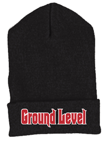 Ground Level Embroidered Beanie