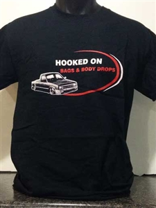 Hooked On Bags & Body Drops T-Shirt