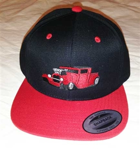 Hot Rod Embroiderd Hat