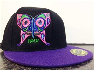 IMDI Butterfly Embroidered Hat